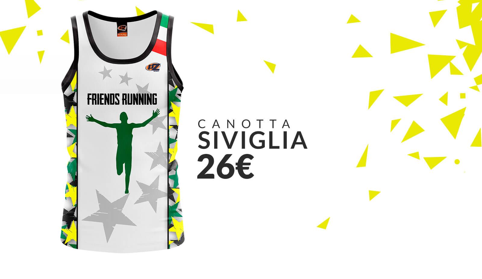 PZ Sport - Running Friends: Canotta Siviglia